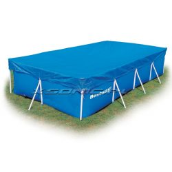 Pokrywa na basen prostokątny do basenu stelażowego 400 x 211 cm Bestway 58107