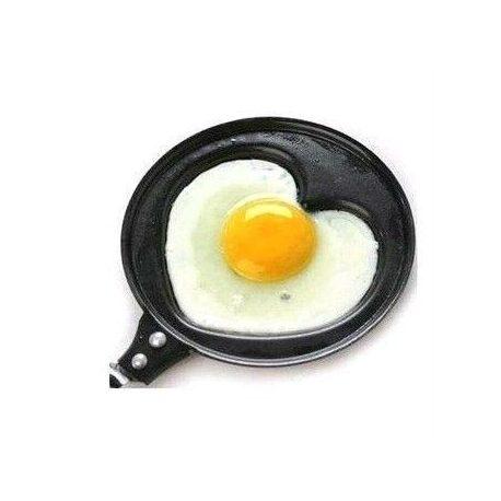Patelnia serduszko serce 12 cm miłosne do jajek sadzonych i naleśników