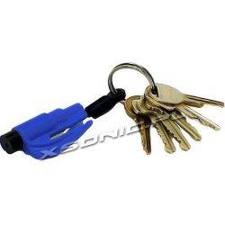 Survivalowy brelok do kluczy niezbędnik samochodowy kierowcy nóż do pasów