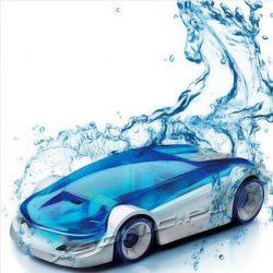 Samochód na słoną wodę niesamowity gadżet zestaw do samodzielnego montażu