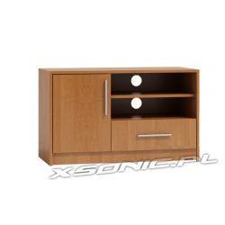 Stolik pod telewizor RTV półka na dekoder konsolę OLKA DS 100cm szafka i szuflada