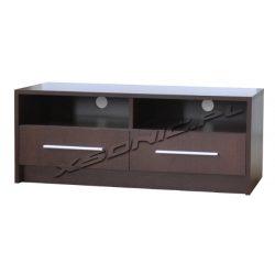 Stolik pod telewizor 2S+2W 100cm dwie wnęki na sprzęt i dwie szuflady różne kolory