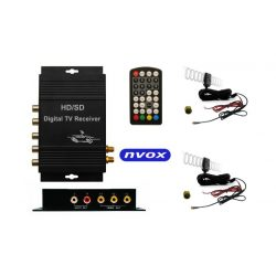 Samochodowy tuner naziemnej telewizji cyfrowej DVB-T NVOX MPEG-4 HD