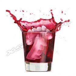 Śmieszna silikonowa foremka na lód zęby wampira 5 sztuk w formie