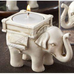 Słonik szczęśliwy świecznik na szczęście piękny słoń bardzo elegancki