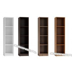 Regał OLKA 30cm 4 półki na segregatory, 4 kolory do wyboru