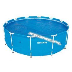 Pokrywa solarna 366 cm na basen stelażowy grzejąca wodę Bestway 58242