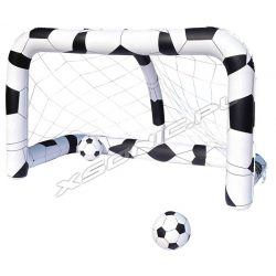 Dmuchana bramka do gry w piłkę nożną + piłki Bestway 52058