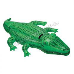Dmuchany aligator do pływania 168 x 86 cm jednoosobowy INTEX 58546