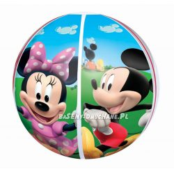 Dmuchana piłka plażowa Mickey i Przyjaciele 51 cm Bestway 91001