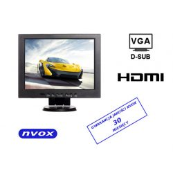 Monitor samochodowy LCD o przekątnej 12,1 cala z AV/VGA/HDMI