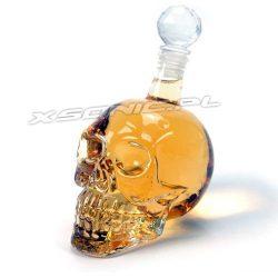 Najlepsza karafka na whiskey w kształcie czaszki kryształowa czaszka