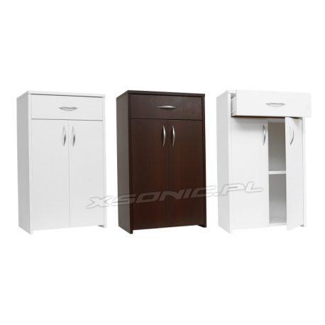 Szafka łazienkowa 2 drzwiczki i szuflada 6 kolorów szerokość 60 cm