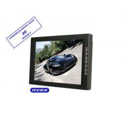 Monitor LCD z dotykową matrycą o przekątnej 12,1 cala - NVOX - wejście VGA