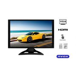 Monitor 19 cali dotykowy ekran matryca LED wejścia VGA HDMI PC 12/230V