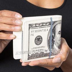 Elegancki dolarowy portfel 100 dolarów dla milionera