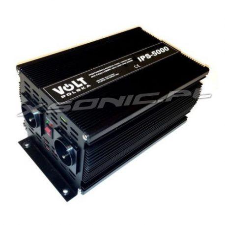 Najmocniejsza przetwornica samochodowa z 12/230V - VOLT POLSKA - 2500W/5000W - sinus modyfikowany