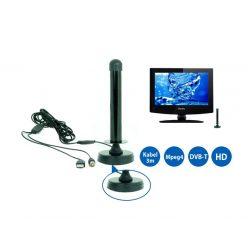 Aktywna cyfrowa antena zewnętrzna TV DVB-T do TIR, KAMPERÓW, JACHTÓW i DOMU