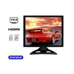 Monitor 15 cali matryca Digital LCD GRADE A+ złącze VGA oraz HDMI 12/230V
