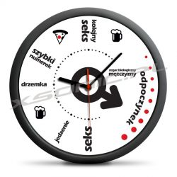 Śmieszny męski zegar biologiczny mężczyzny co będzie o której dla facetów