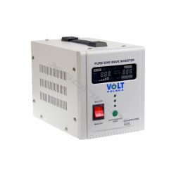 Zasilacz awaryjny UPS przetwornica napięcia z 12V 230V o mocy 500W 800W marki VOLT czysty SINUS awaryjne