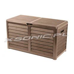 Skrzynia ogrodowa i balkonowa EDA o pojemności 420L dostępne dwa kolory
