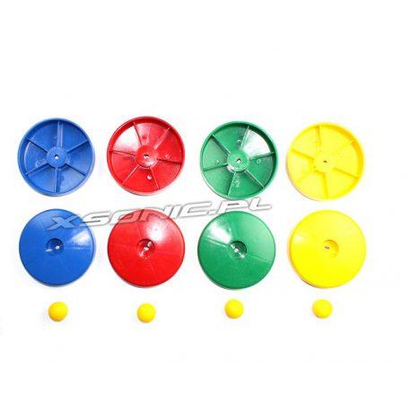 Zaślepka okrągła maskująca śruby na belkce placu zabaw 100mm
