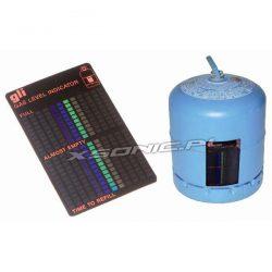 Miernik stanu gazu w butli magnetyczny sposób mocowania