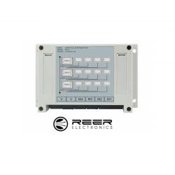 Dystrybutor wertykalny do obsługi 4 paneli LCD zestawu wideodomofonu deweloperskiego Reer Electronics
