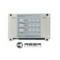 Dystrybutor horyzontalny do zestawu wideodomofonu deweloperskiego marki Reer Electronics