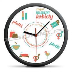 Śmieszny zegar biologiczny kobiety co będzie o której dla kobiet wiszący
