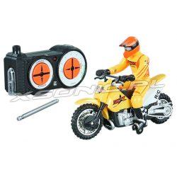 Zdalnie sterowany motocykl RC w skali 1:58