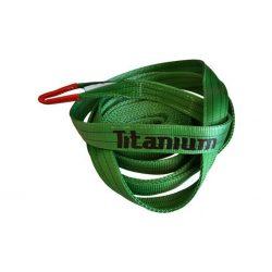 Pas do opasania drzewa lub holowania pojazdu - marki Titanium - 14 ton/5m