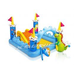 Dmuchany plac zabaw dla dzieci Zamek Fantasy 185 x 152 x 107 cm