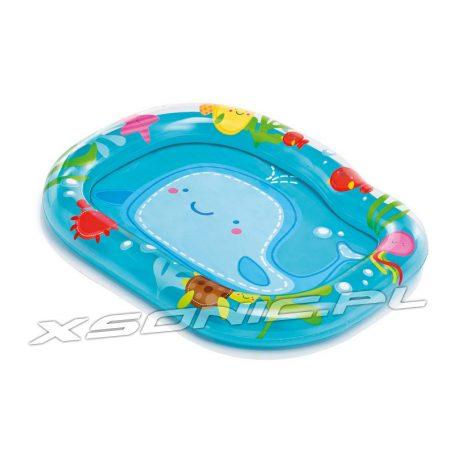Basenik dmuchany brodzik dla dzieci Wieloryb 112 x 84 x 13 cm INTEX