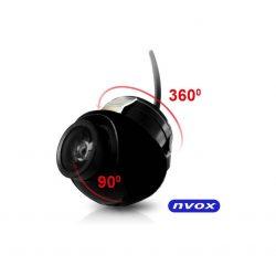 Kamera cofania marki NVOX możliwość regulacji w dwóch płaszczyznach