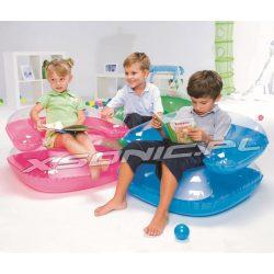 Fotel dmuchany dla dziecka 76 x 76 cm Bestway 75006 3 kolory