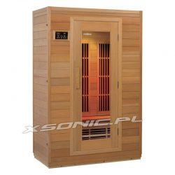 Sauna Infrared dla 2 osób na podczerwień promienniki węglowe funckja jonizacji