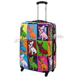 Duża walizka na 4 kołach Saxoline Bulldog