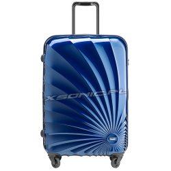 Duża walizka na 4 kołach z motywem słońca - Stratic Sun