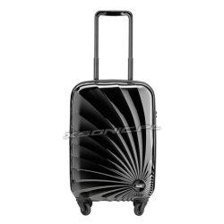 Mała walizka kabinowa na 4 kółkach motyw słońca Stratic Sun