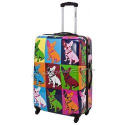Średnia walizka na 4 kołach Saxoline Bulldog