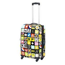 Średnia walizka na czterech kołach - miejski design - Saxoline Iconic