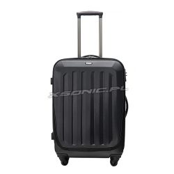 Średniej wielkości walizka na czterech kółkach z kieszenią na laptopa - Stratic Melton