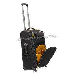 Mała walizka kabinowa na 2 kółkach poszerzana Stratic Apollo ll