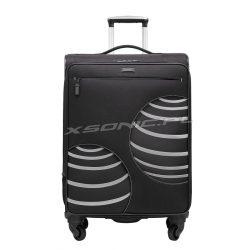 Duża walizka na czterech kółkach - wzór 3D - Stratic Ball
