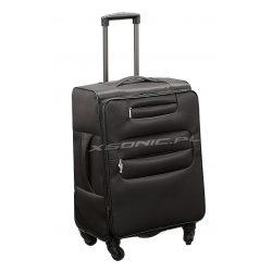 Średnia elegancka walizka podróżna na 4 kółkach Stratic TakeOff 62-69 L