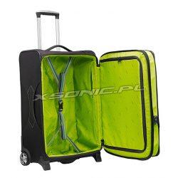 Duża walizka na 2 kołach motyw 3D Stratic Ball poszerzenie 85-100 litrów