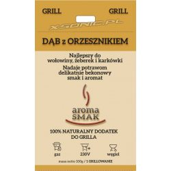 Aromat do grillowania granulat Aroma Smak Dąb z orzesznikiem