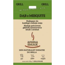 Aromat do grillowania granulat Aroma Smak Dąb z mesquite